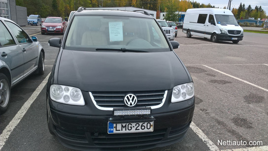 Volkswagen Touran 16 Fsi Trendline 5d Mpv 2003 Used Vehicle