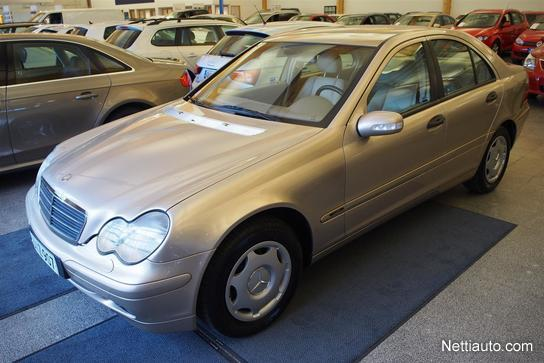 mercedes-benz c 180 elegance sedan 2001 - used vehicle - nettiauto