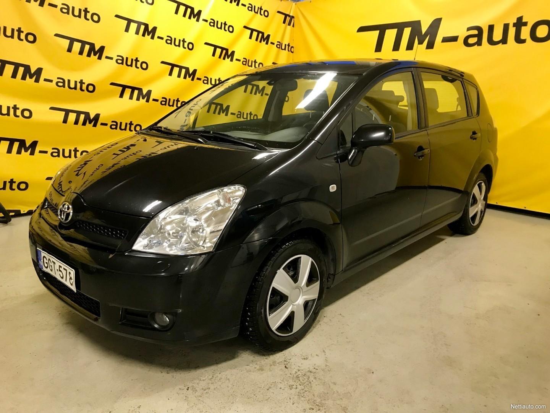 Toyota Corolla Verso 1 8 Vvt I Sol 5d 7p M Mt Mpv 2005 Used