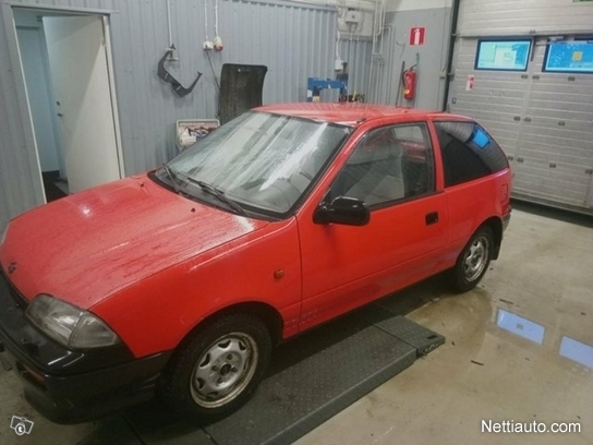 Suzuki Swift vaihto mp Sedan 1995 - Used vehicle - Nettiauto