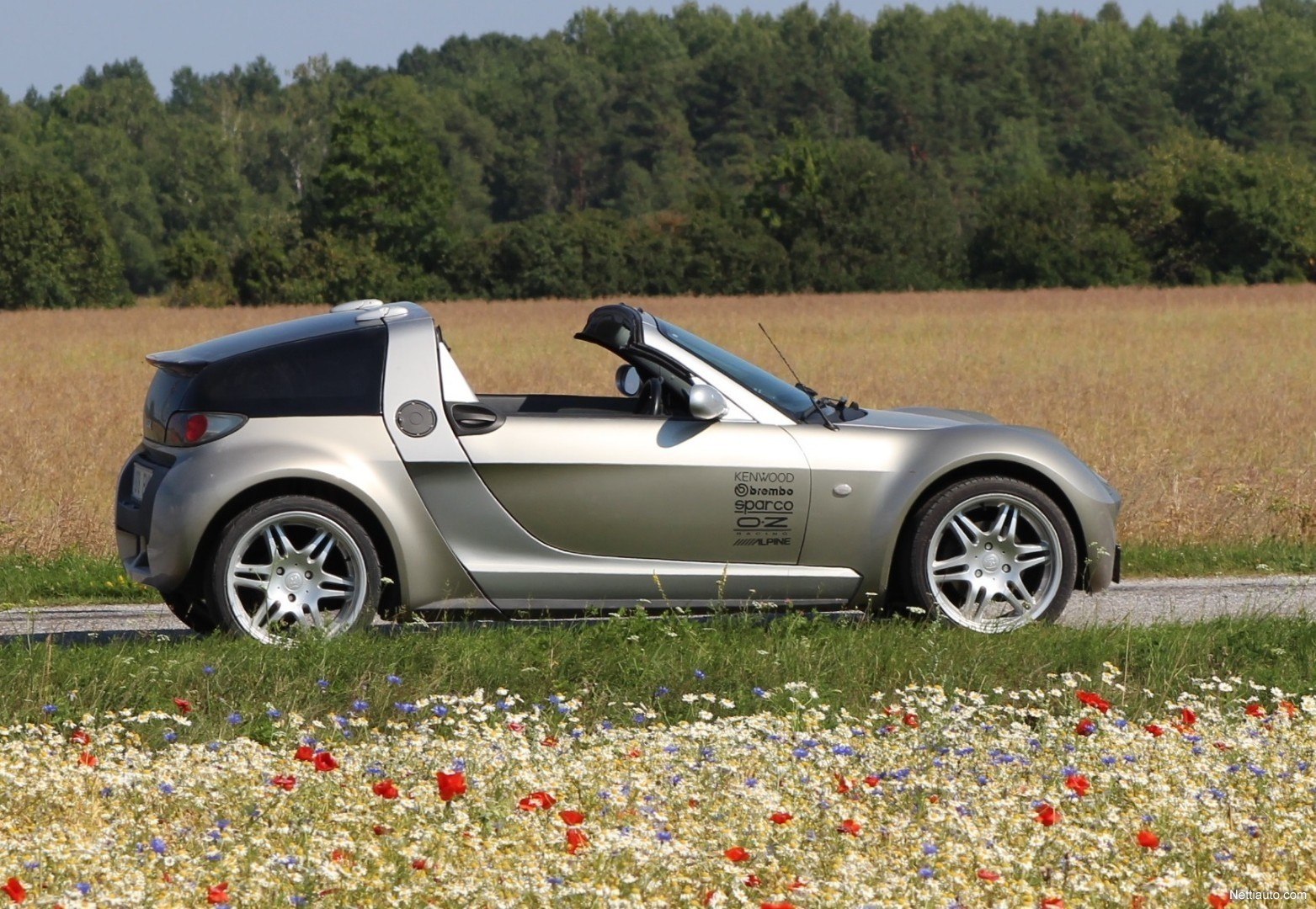smart roadster roadster coup 60kw convertible 2003 used. Black Bedroom Furniture Sets. Home Design Ideas