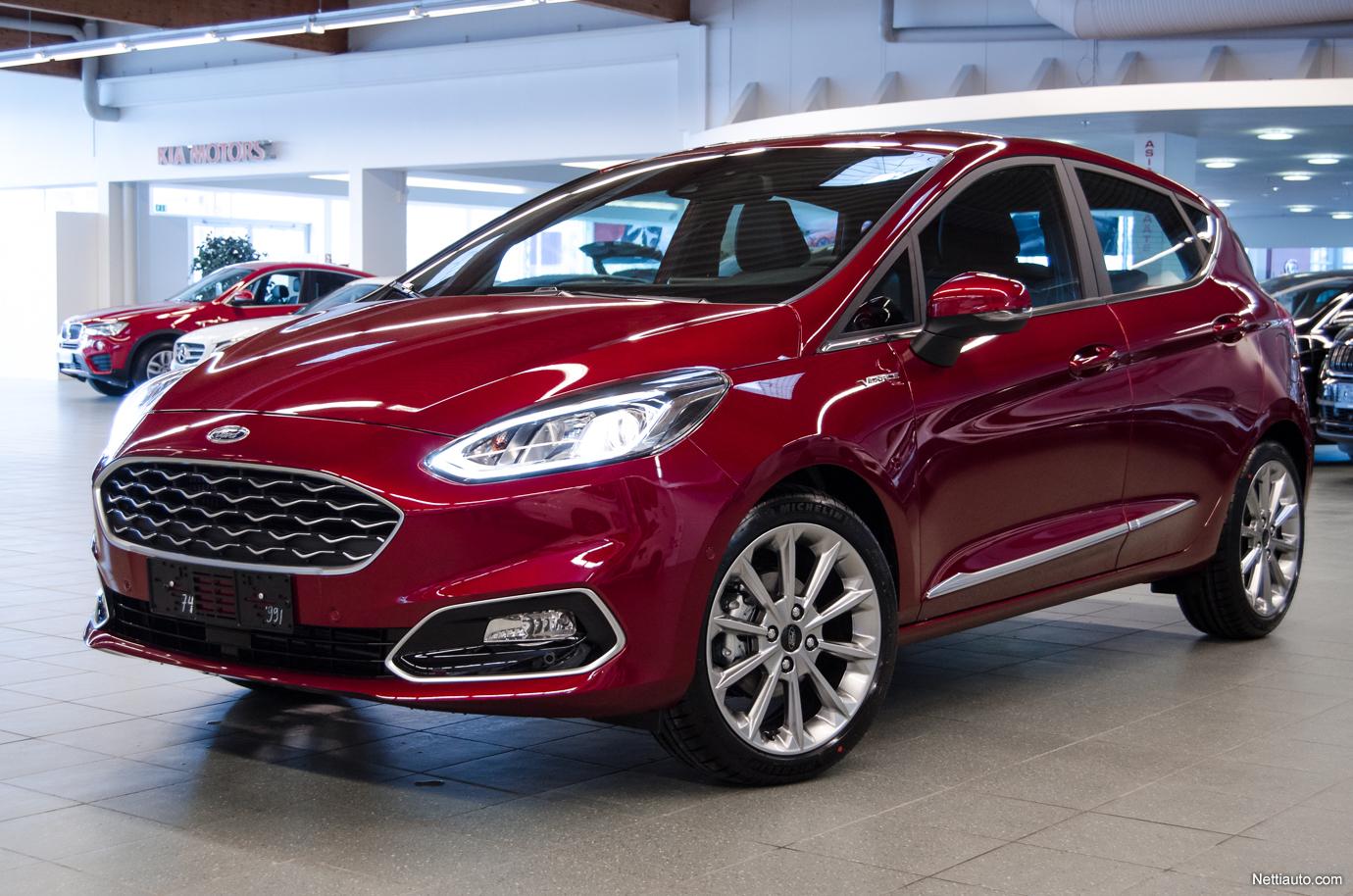 Ford Fiesta Vignale >> Ford Fiesta 1 0 Ecoboost 100hv A6 Vignale 5d Takuu 5v