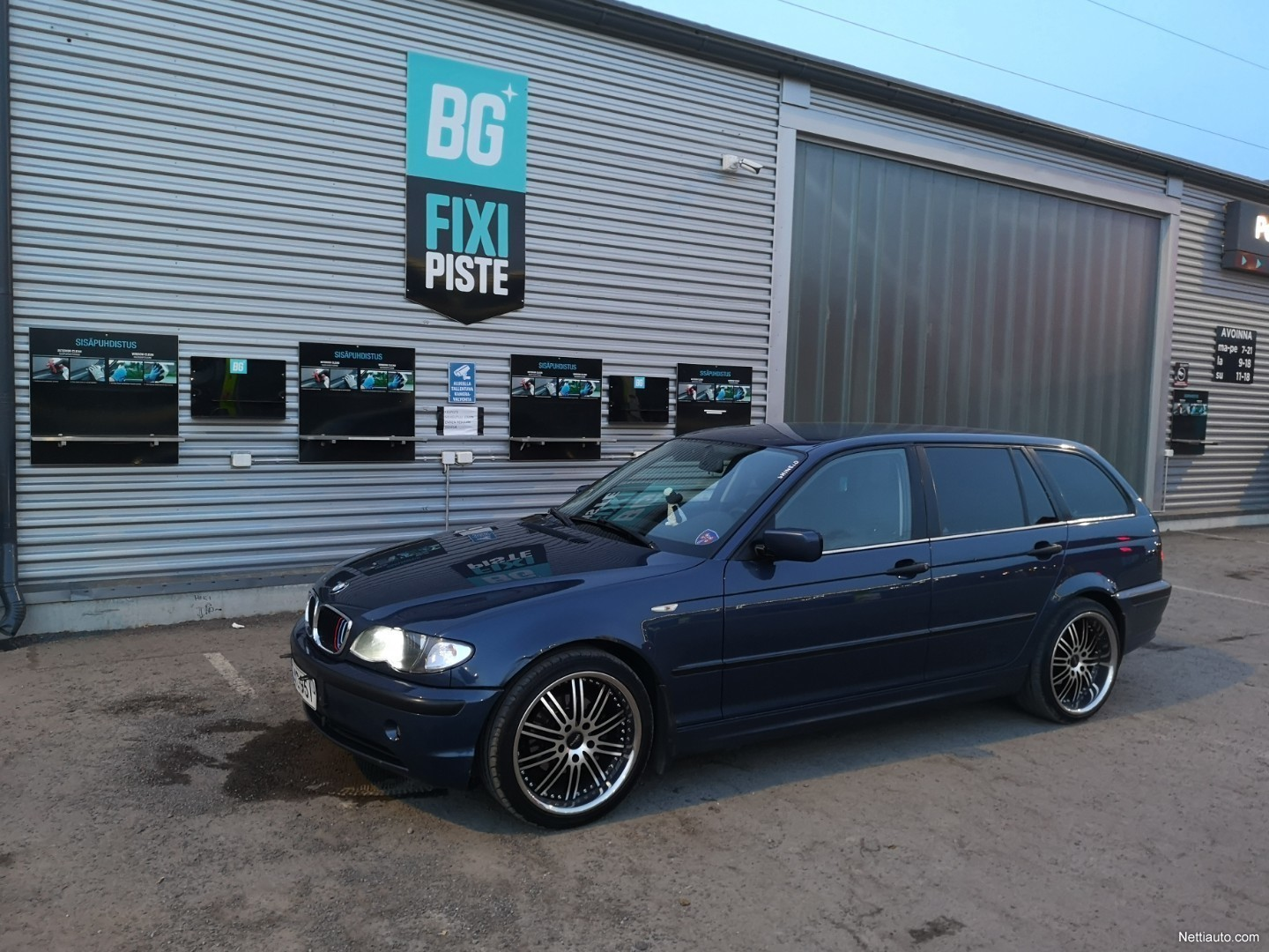 Bmw 316 18i Touring E46 Station Wagon 2005 Used Vehicle Nettiauto