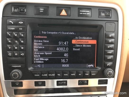 Porsche Cayenne Turbo S 521hp 720nm, täysi huoltokirja