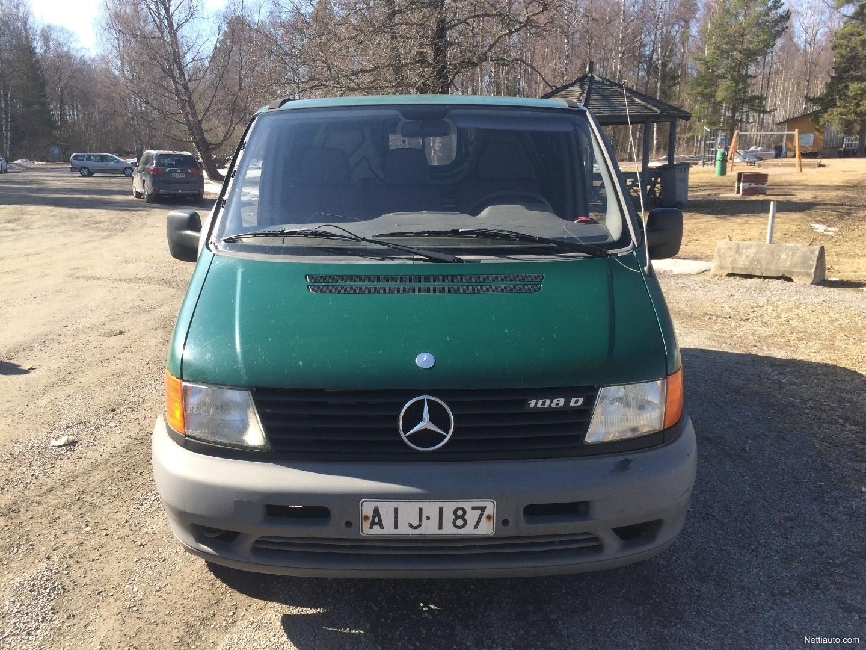 Mercedes-Benz Vito Nyt 1000€ käteisellä. Tila-auto 1997 ...