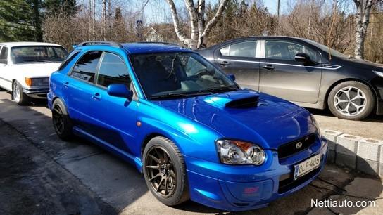 Subaru Impreza 2 0 WRX AWD Sports Wagon Station Wagon 2002