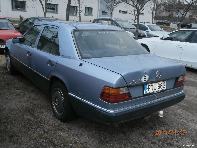 Mercedes-Benz 200 E 124 Sedan 1992 - Used vehicle - Nettiauto