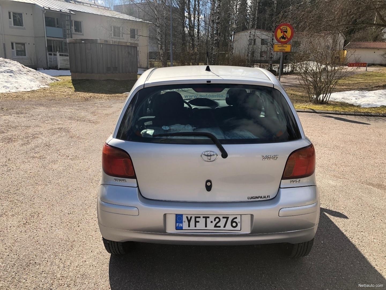 Toyota Yaris Umpion Vaihto