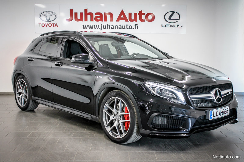 mercedes benz gla 45 amg 4matic a my15 4x4 2015 used. Black Bedroom Furniture Sets. Home Design Ideas