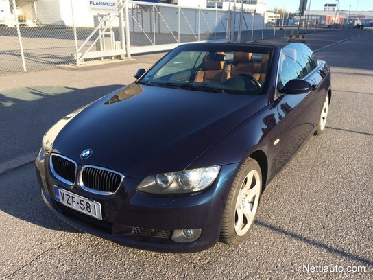 Fonkelnieuw BMW 320 A E93 Cabrio Convertible 2008 - Used vehicle - Nettiauto BZ-66
