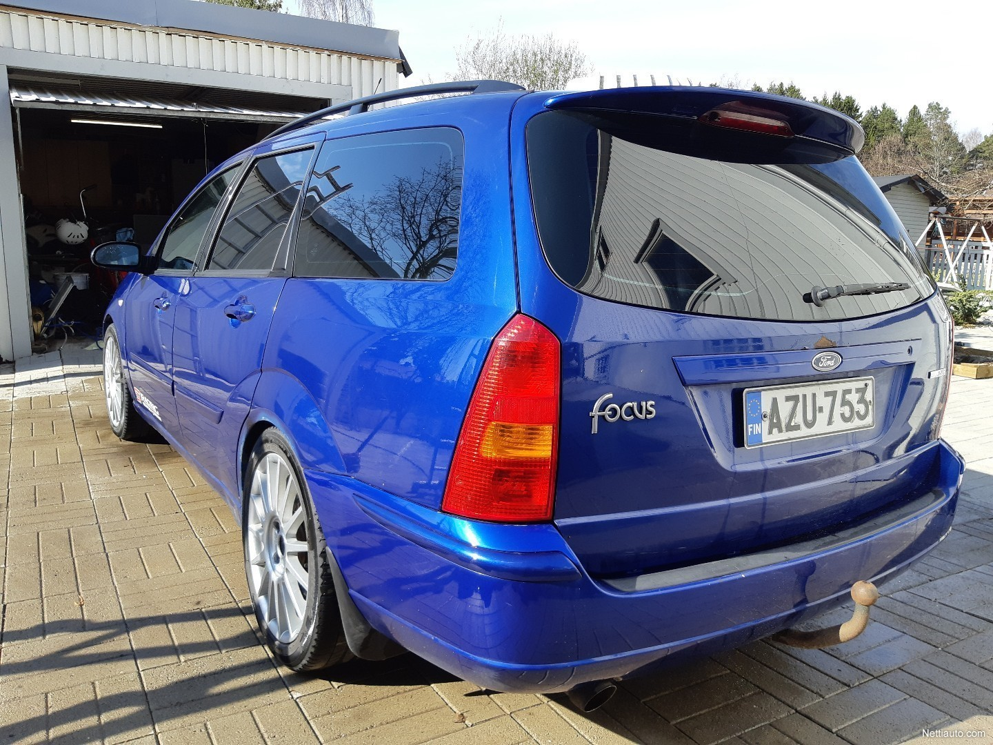 Ford Focus 2 0i St170 Wagon Farmari 2002 - Vaihtoauto