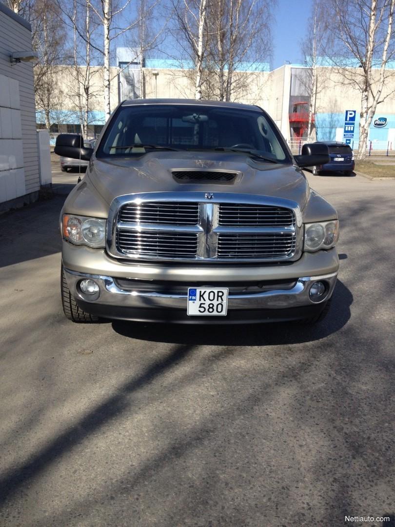 Dodge 5 7 Hemi >> Dodge Ram 2500 Ram 2500 5 7 V8 Hemi Magnum Laramie Kevyt K A