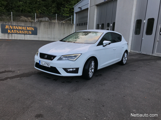 W superbly Seat Leon 2,0 TDi 150 FR DSG (MY14) Hatchback 2013 - Used vehicle XS77