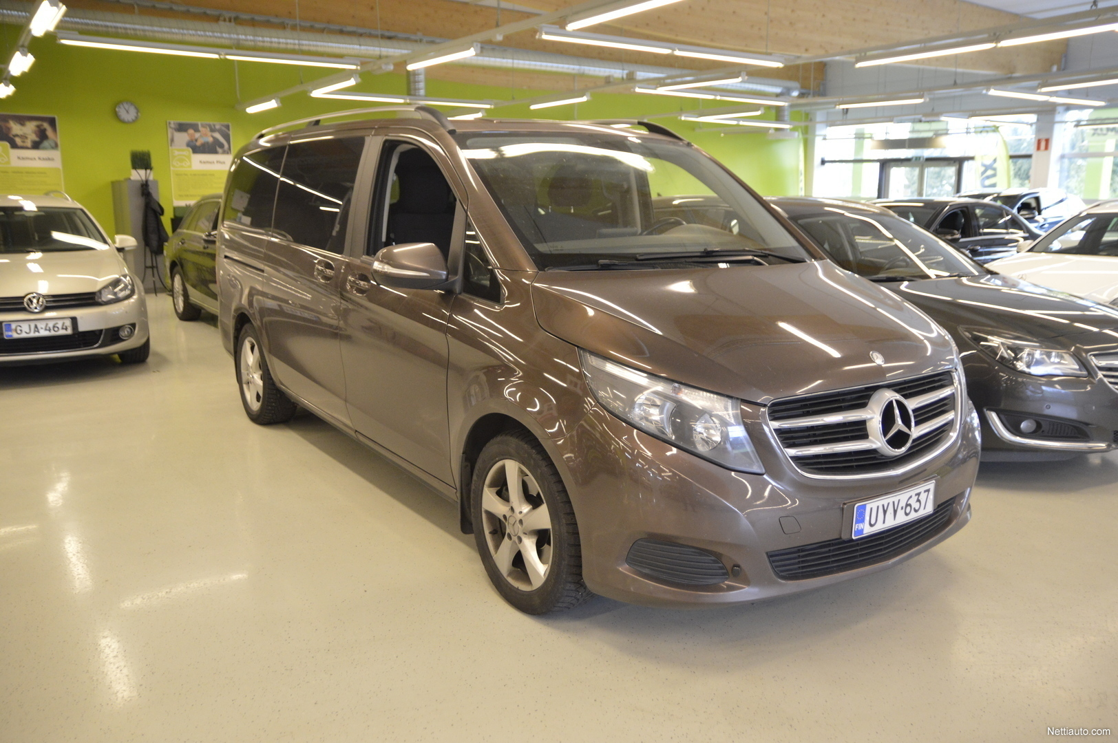 Mercedes Benz Dealers >> Mercedes Benz V 220 Cdi Keskipitka A2 A Mpv 2015 Used