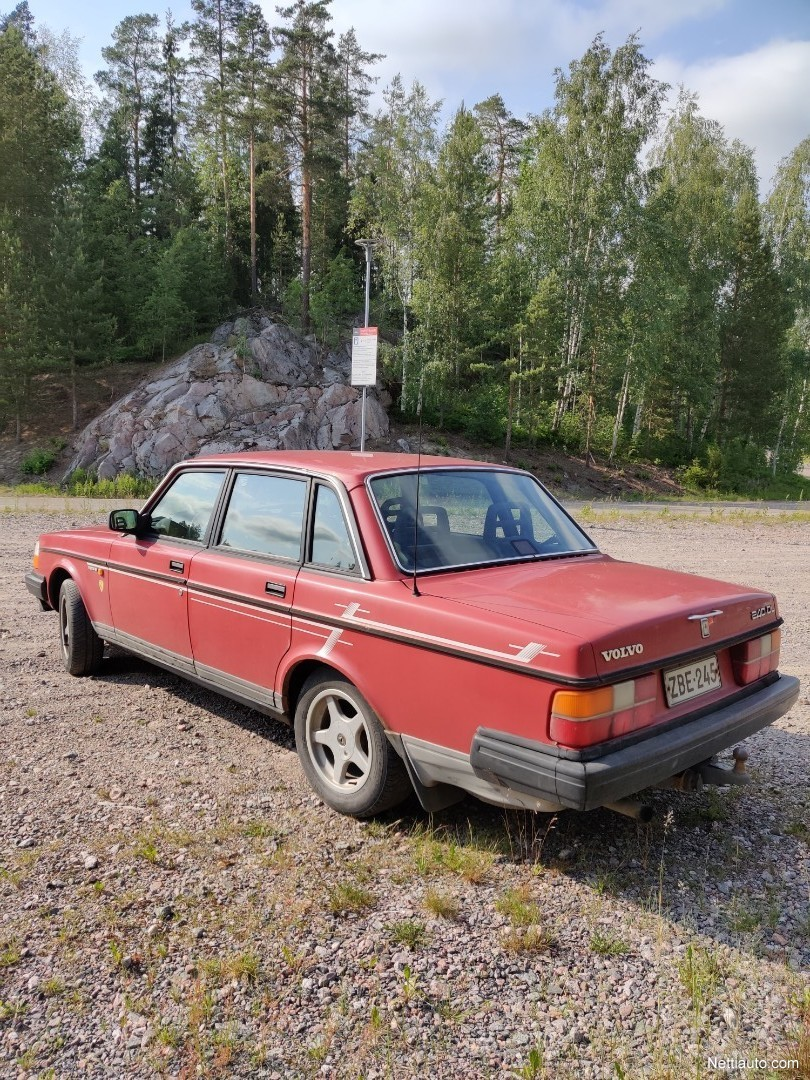 Volvo 240 Leimattu! Porrasperä 1988 - Vaihtoauto - Nettiauto