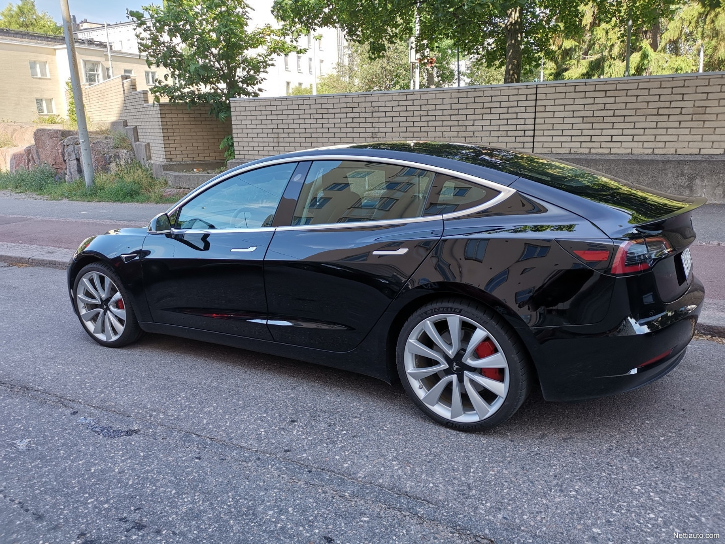 3 Wheel Car >> Tesla Model 3 Performance Dual Motor Awd Sedan 2019 Used