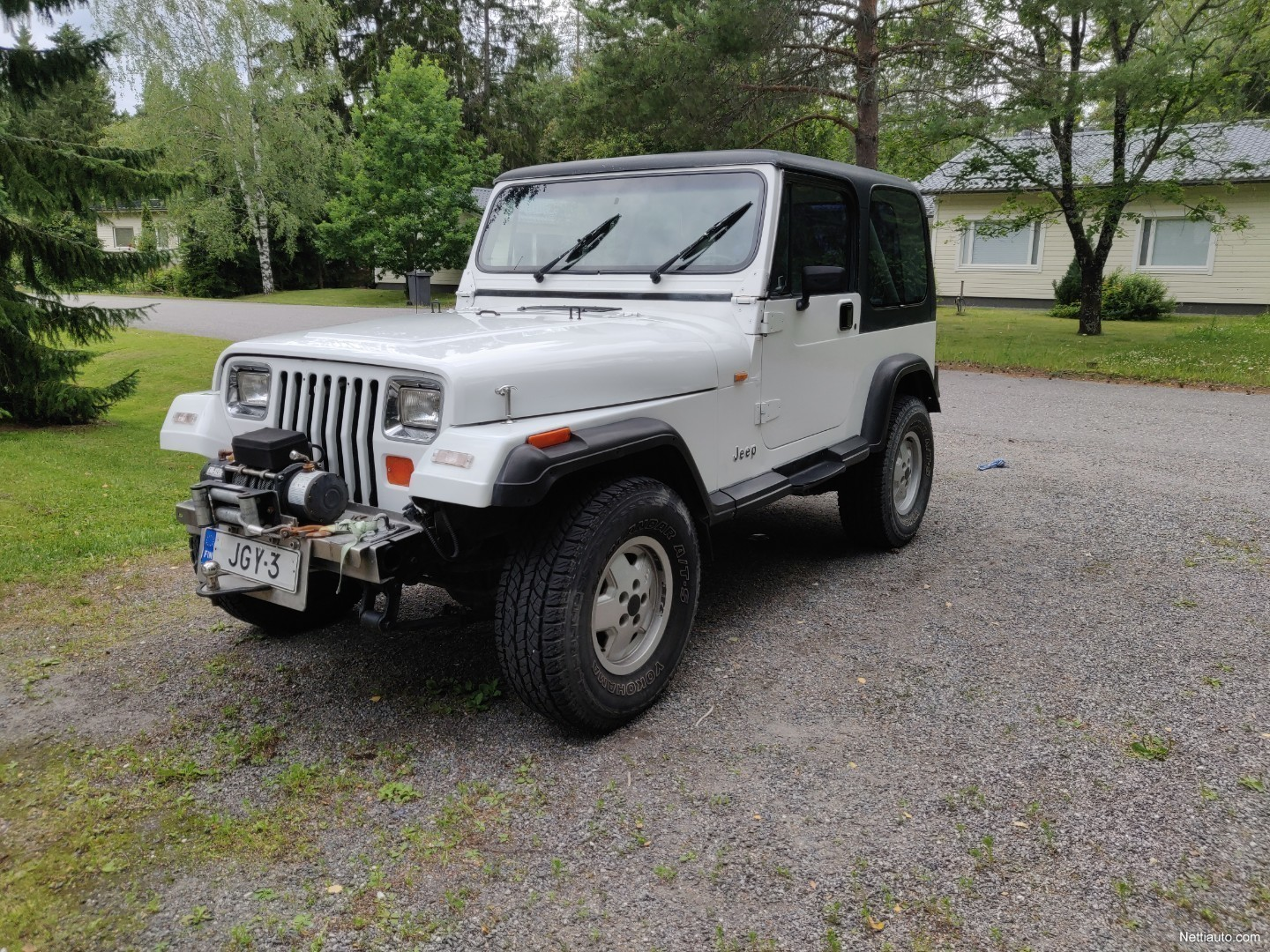 Jeep Wrangler Rims And Tire Packages >> Jeep Wrangler 4x4 1991 Used Vehicle Nettiauto