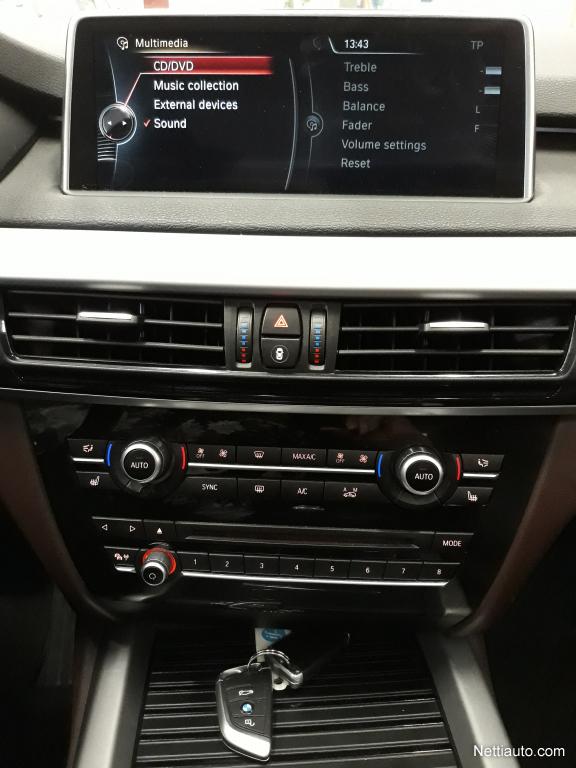 Bmw X5 Xdrive30d F15 Twinpower Turbo A Huippuvarusteet Yonako Navi Headup Display Keylessgo Panoraama Lasikatto Nahkap