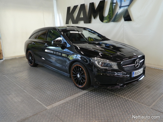 Mercedes Benz Cla 250 4matic A Shooting Brake Edition Orange Art Amg