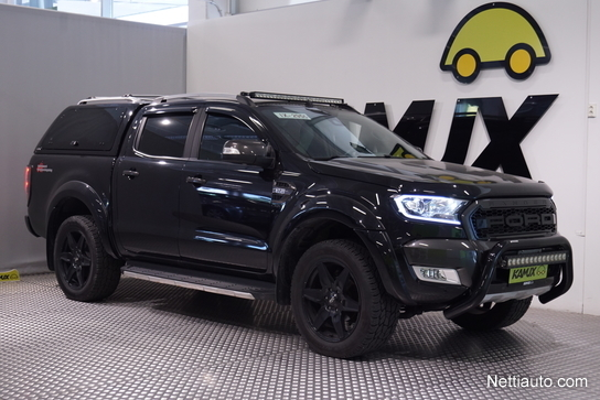 Ford Ranger 2017 >> Ford Ranger Double Cab 3 2tdci 200 Hv A6 4x4 Black Edition