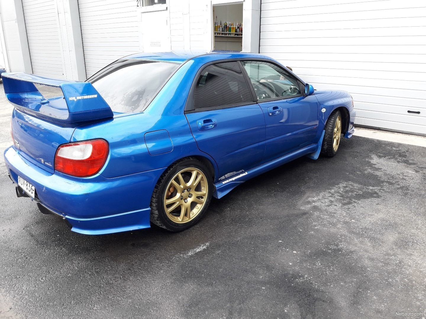 Impreza Wrx Sti >> Subaru Wrx Sti Sedan 2001 Used Vehicle Nettiauto