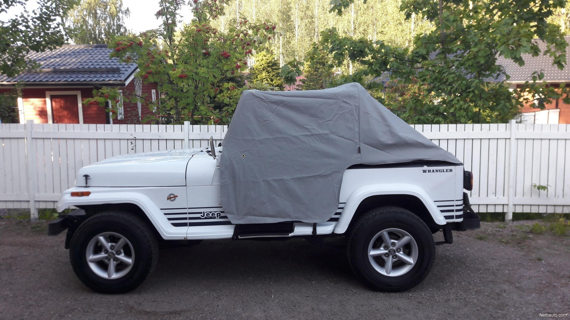 Jeep Wrangler Rims And Tire Packages >> Jeep Wrangler Islander 4 2 Automaatti Avoauto 1991