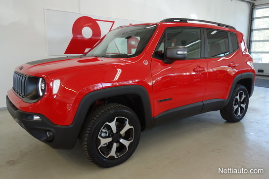 Red Jeep Renegade >> Jeep Renegade 2 0 Mjet 170hv At9 4wd Trailhawk 4x4 2019