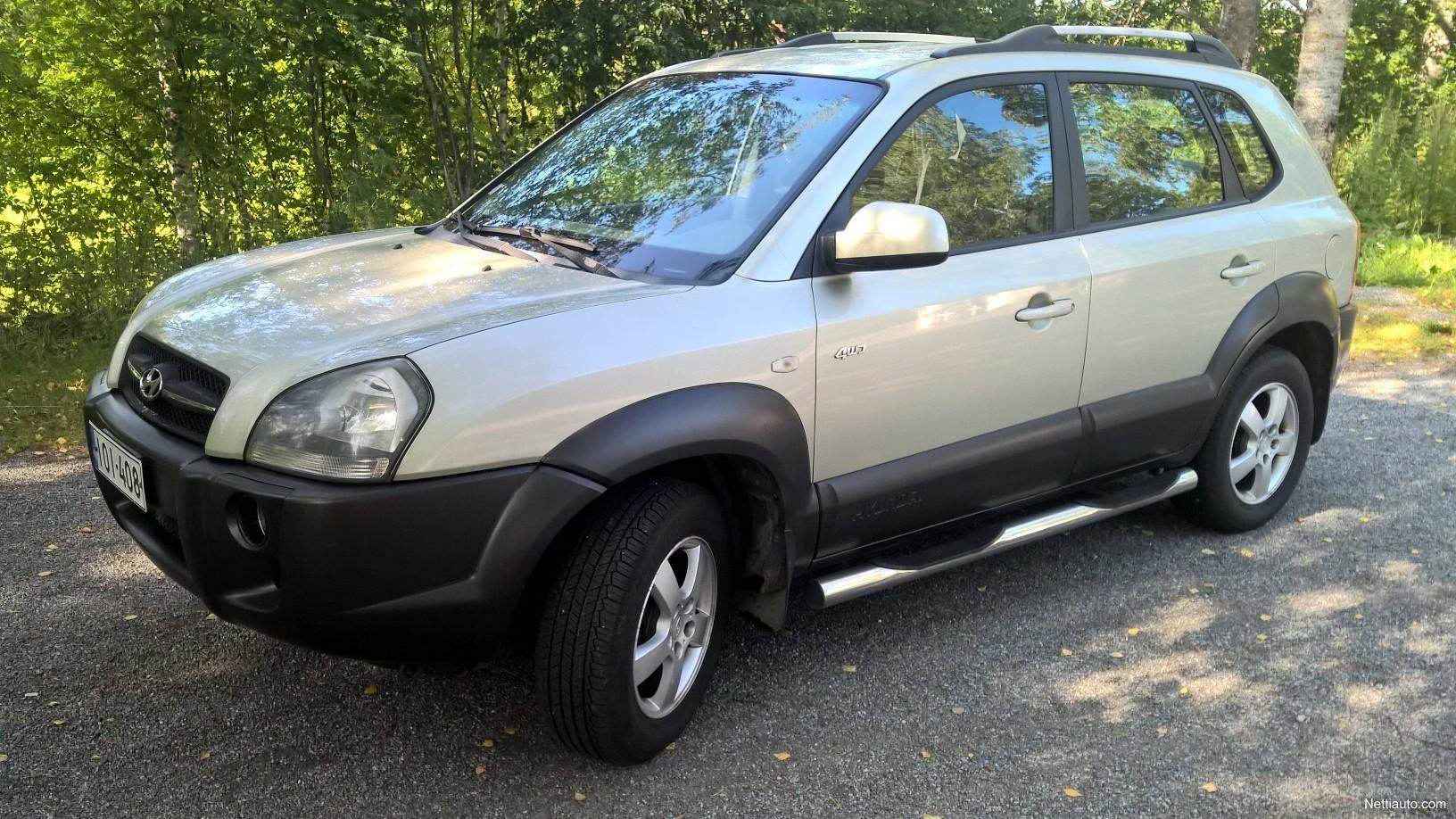 Are Kia And Hyundai The Same Company >> Hyundai Tucson 2 7 V6 Gls Aac Esp A