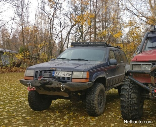 Jeep Grand Cherokee Off Road >> Jeep Grand Cherokee 5 2 V8 Ltd 5d A