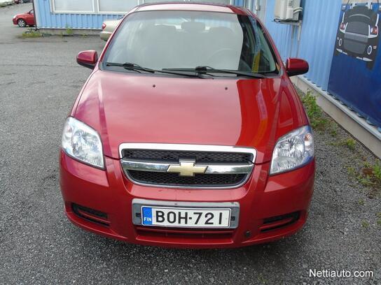 Chevrolet Aveo Ls 1 4 74kw Star Ilmastointi Ajettu 144tkm