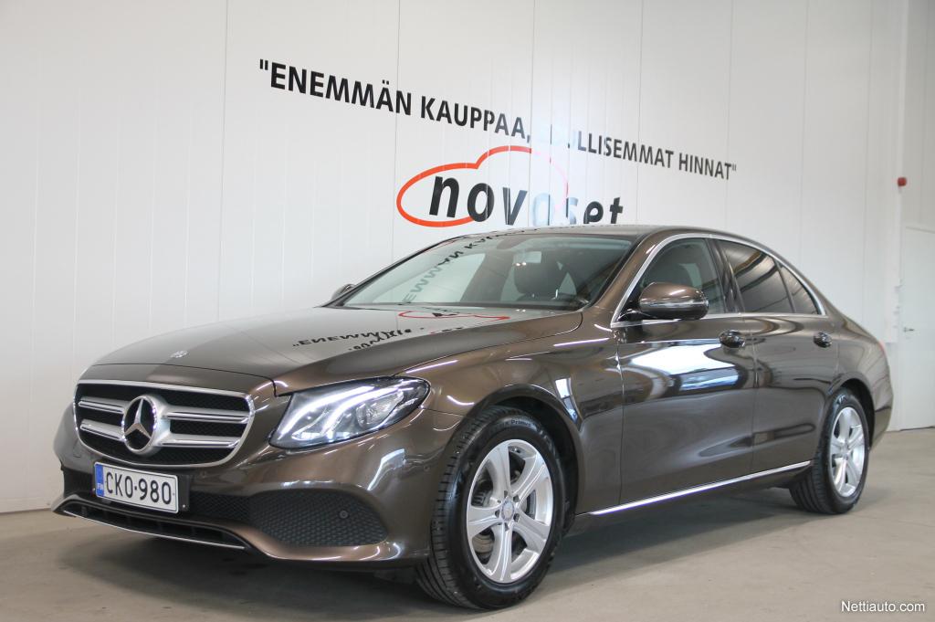 Mercedes-Benz E 220d A Premium Business Avantgarde *Facelift 17**KESÄKAMPANJA! 1,99% KORKO,ILMAINEN KOTIINKULJETUS!*