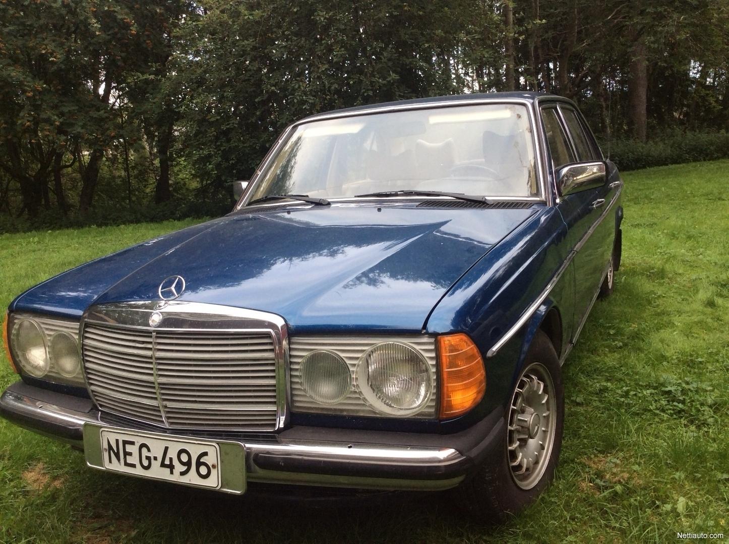 Mercedes Benz 300 W123 Sedan 1976 Used Vehicle Nettiauto