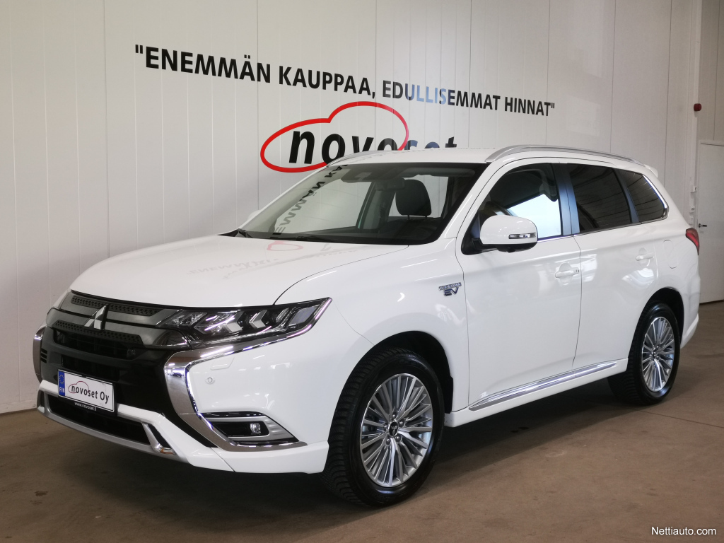 Mitsubishi Outlander PHEV Plus 4WD MY20 Kuljettajan avustin paketti *HUIPPUVARUSTEET!* *1.99% KORKO, 220e KASKO, 0e TOIMITUS!*