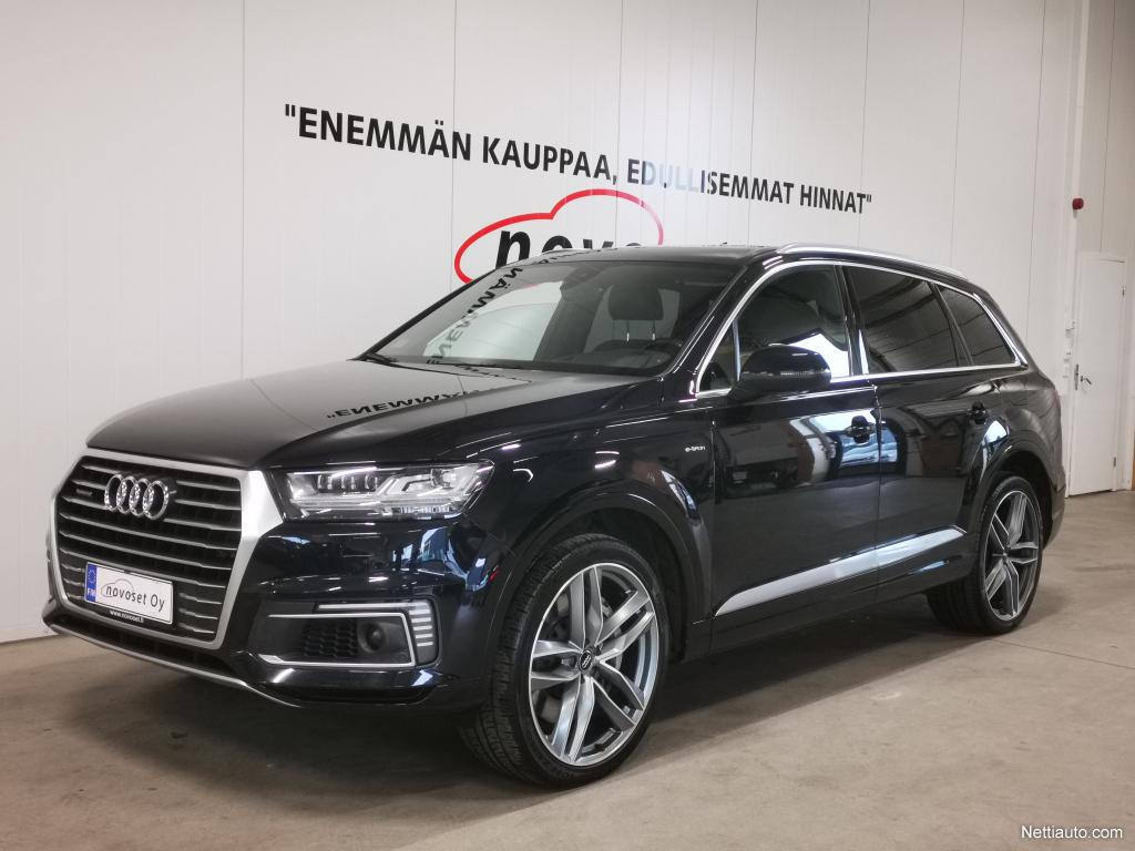 Audi Q7 3,0 TDI e-tron quattro S-Line *MATRIX, ILMA-ALUSTA, ADAPT. VAKKARI, VIRTUAALI MITTARISTO* *1.99% KORKO, 220e KASKO, 0e T