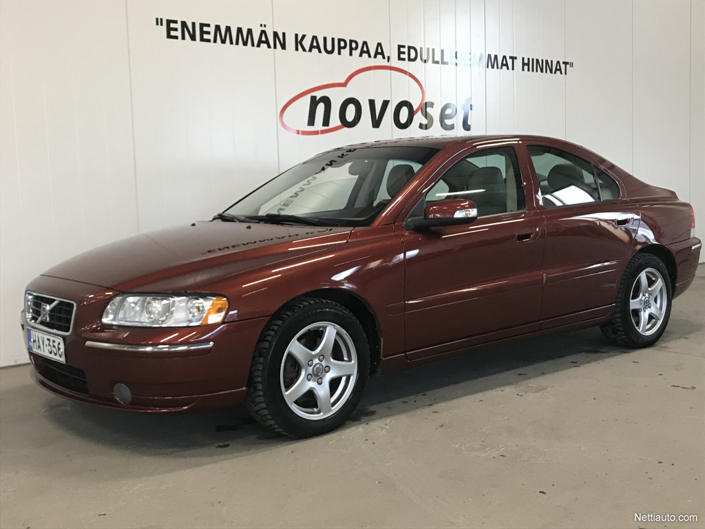 Volvo S60 2,4D Classic aut*HIENO* *1.99% KORKO, 0€ KOTIINTOIMITUS!*