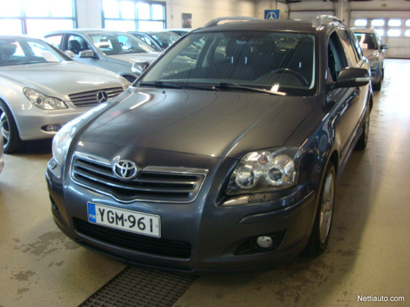 toyota avensis 2 0 d4d 126 linea sol technical wagon farmari 2007 vaihtoauto nettiauto. Black Bedroom Furniture Sets. Home Design Ideas