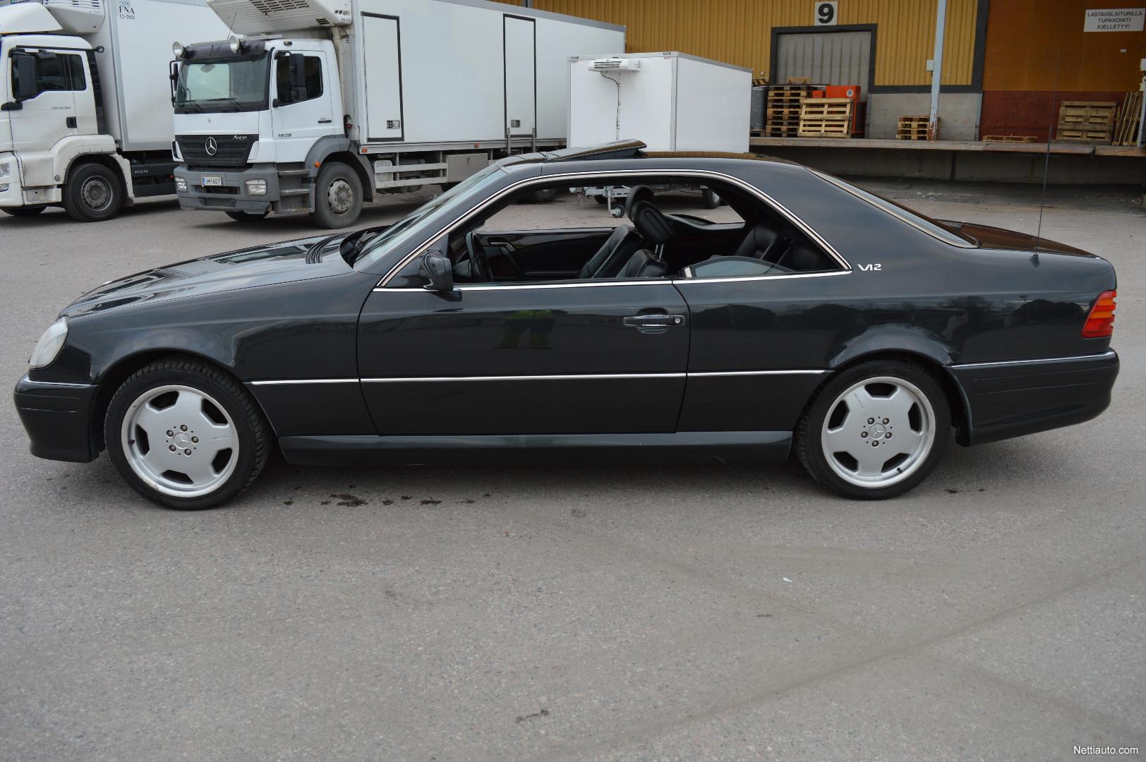 Mercedes benz sec w140 600 sec v12 coup 1993 vaihtoauto for Mercedes benz 663