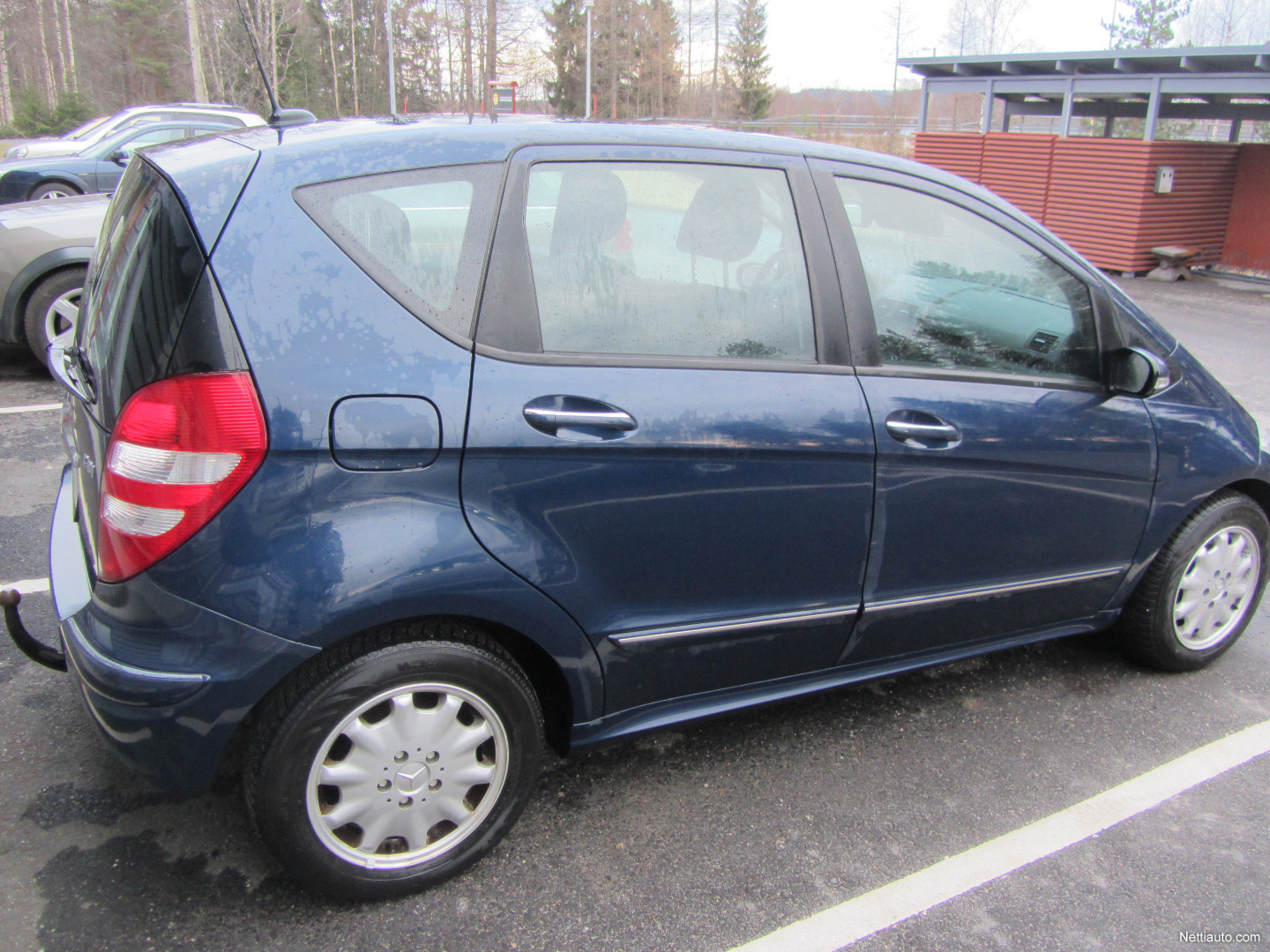 Mercedes benz a a 160 cdi elegance mpv 2007 used vehicle for Mercedes benz remote start instructions