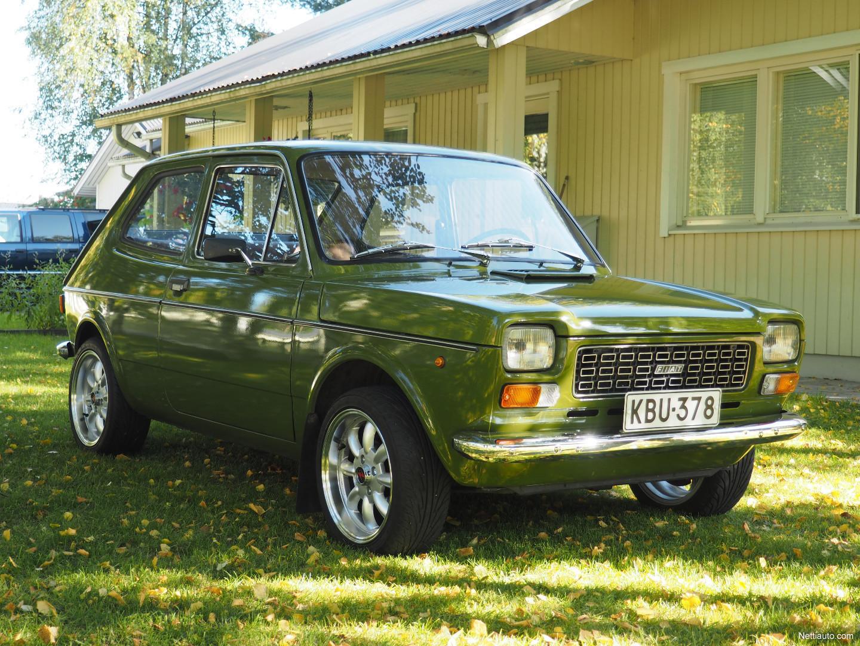 Fiat fiat 127 : Fiat 127 Hienokuntoinen Museoauto Fiat 127, Museotarkastuslausunto ...