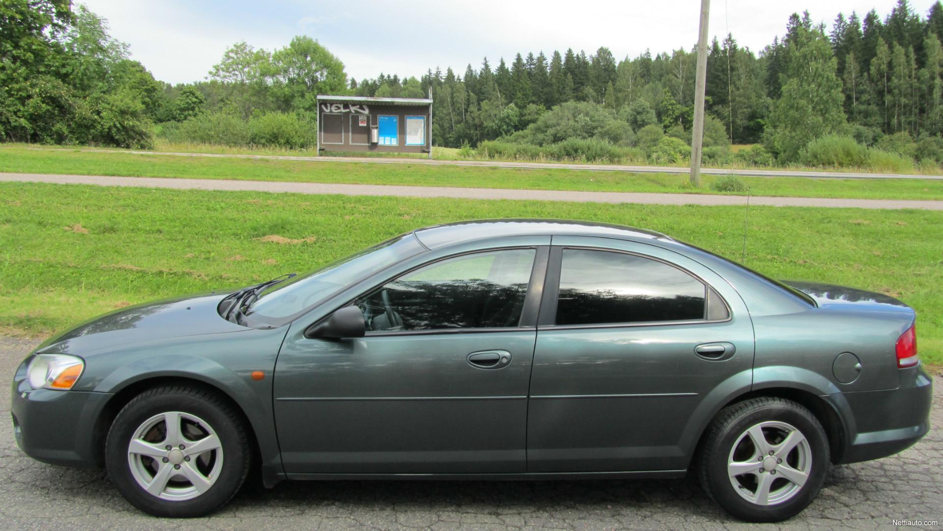 Chrysler Sebring 2 0 A4 Le 4d Autostick Business Juuri