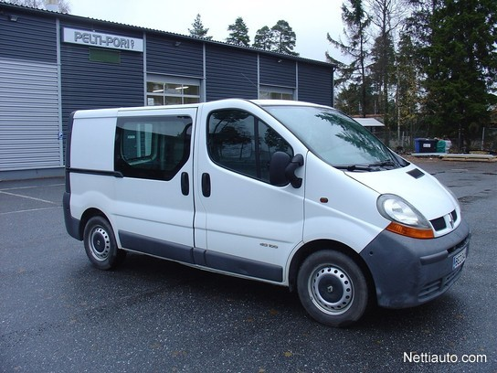 renault trafic combi 1 9 dci 100 short low 2005 used vehicle nettiauto. Black Bedroom Furniture Sets. Home Design Ideas