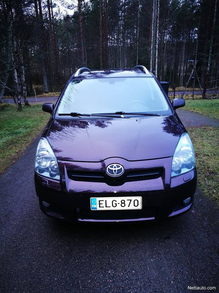 toyota corolla verso 2 2 d4d 177 cpower linea sol sport 7p mpv 2008 used vehicle nettiauto. Black Bedroom Furniture Sets. Home Design Ideas