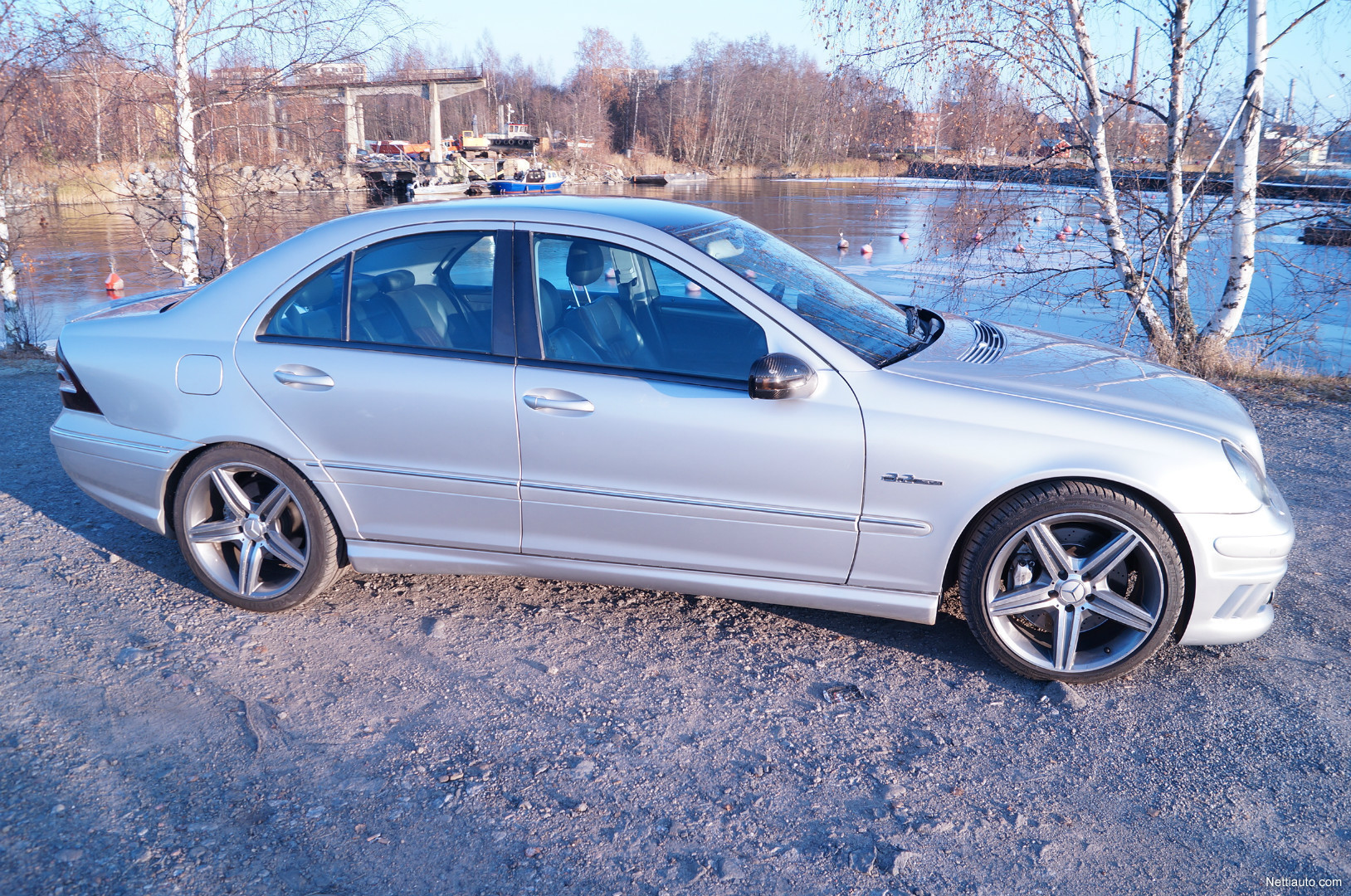 mercedes benz c 32 amg harvinainen c32 amg kleeman optiikalla sedan 2002 used vehicle nettiauto. Black Bedroom Furniture Sets. Home Design Ideas