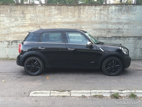 mini countryman cooper sd all4 huippuvarusteet musta nahkasisusta adaptiiviset xenonit. Black Bedroom Furniture Sets. Home Design Ideas