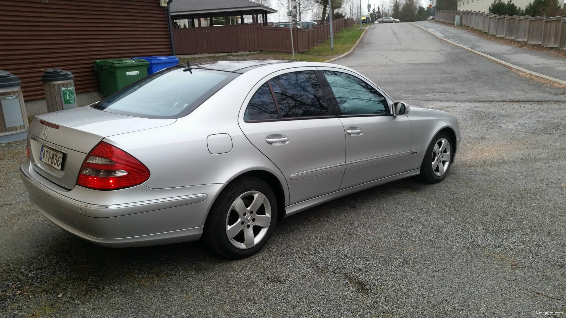 Mercedes benz e 270 cdi avantgarde 4d a sedan 2003 used for Mercedes benz remote start instructions