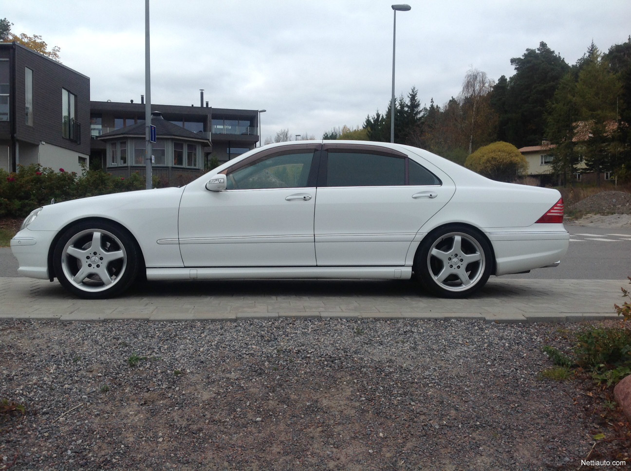 Mercedes benz s 55 amg lang sedan 2000 used vehicle for Mercedes benz s 55