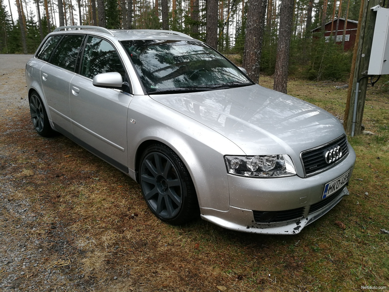 Audi A4 2 5 V6 Tdi Quattro Avant 180hp Vaihto Bobcat Kaivuulaitteeseen Station Wagon 2002