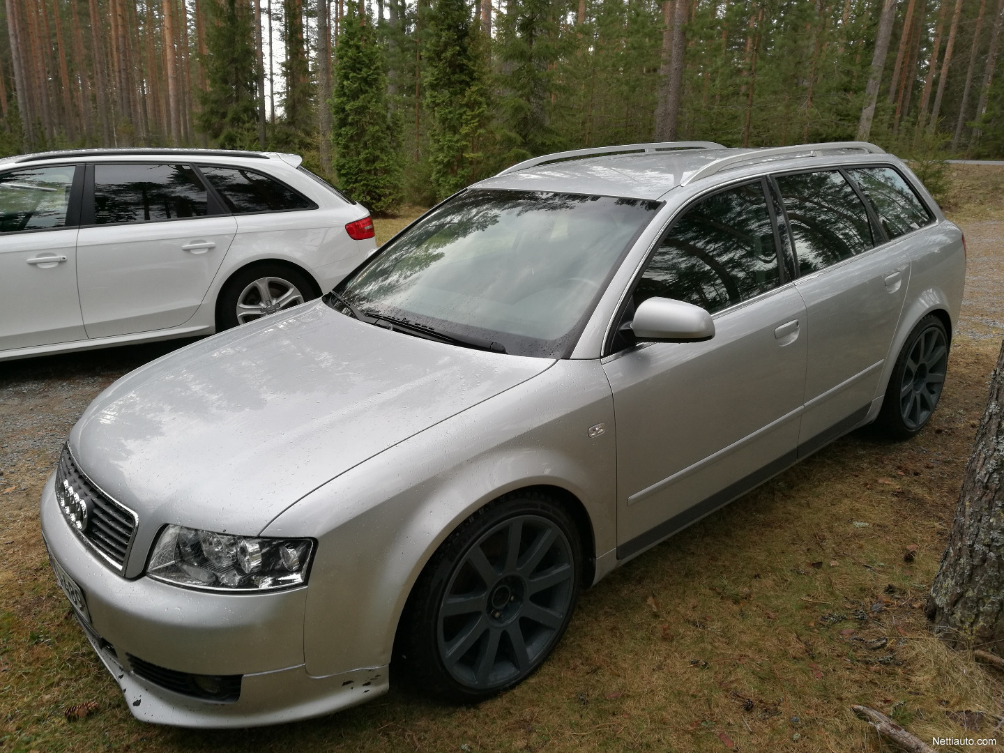 audi a4 2 5 v6 tdi quattro avant 180hp vaihto bobcat kaivuulaitteeseen station wagon 2002. Black Bedroom Furniture Sets. Home Design Ideas