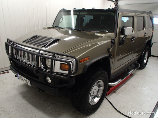 hummer h2 6 0 vortec 4x4 4x4 2004 used vehicle nettiauto. Black Bedroom Furniture Sets. Home Design Ideas