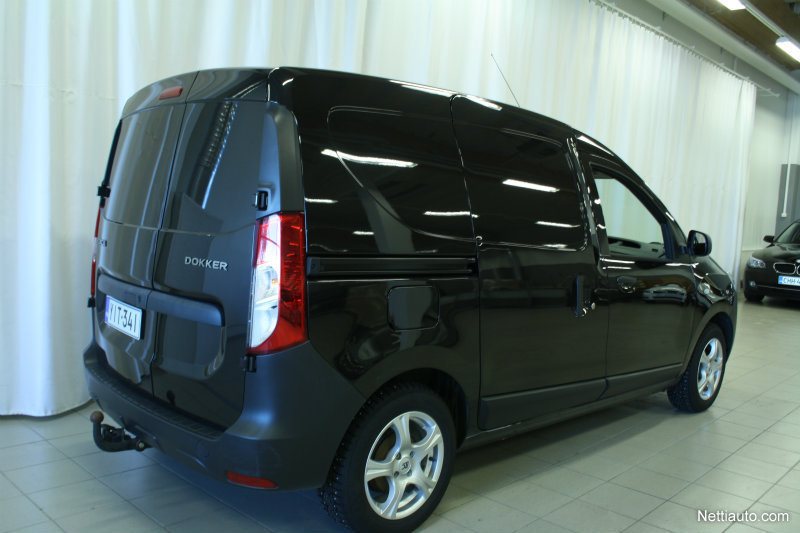 dacia dokker van tce 115 ambiance 3 3m3 rahoituskorko 0 kulut 2014 used vehicle nettiauto. Black Bedroom Furniture Sets. Home Design Ideas